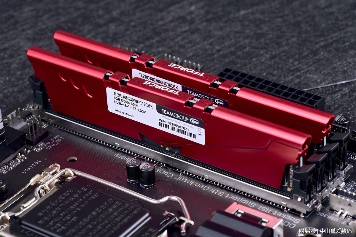 内存白菜价,高频内存正当时,入手十铨VulcanZ DDR4 3000内存
