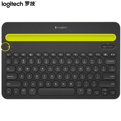 罗技(Logitech)K480 键盘 无线蓝牙键盘 办公键盘 女性 便携 超薄键盘 笔记本键盘 黑色/白色