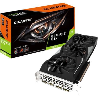 技嘉(GIGABYTE) GTX1660 GAMING OC高效静音散热 电竞独立显卡 畅玩主流网游 GTX 1660 Gaming OC 6G