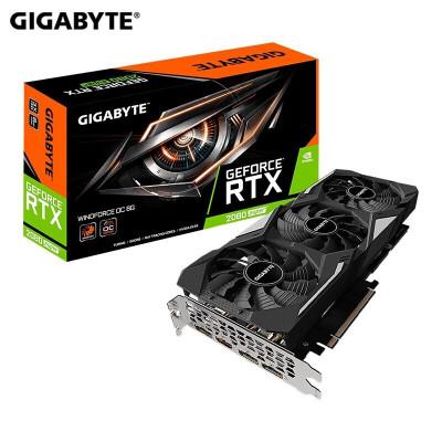 技嘉(GIGABYTE)高帧畅玩 颜值性能双全显卡 RTX2080 SUPER WF3OC 8G