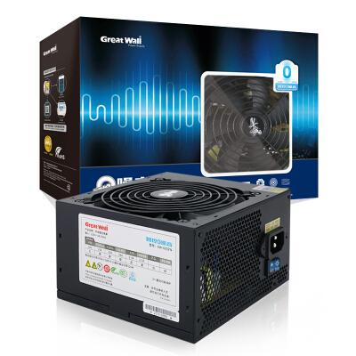 长城(Great Wall)额定500W 智控0噪音电脑电源GW-600ZN