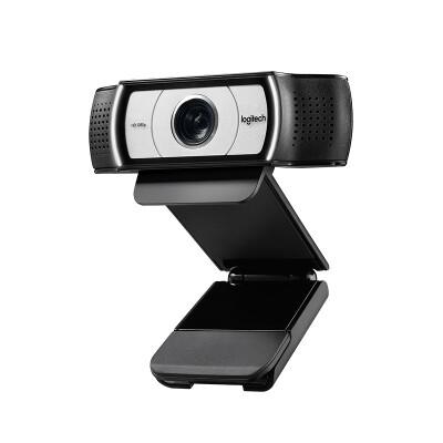 罗技(Logitech) C930c 高清网络直播教学摄像头 电脑笔记本摄像头 视频会议网络教学 C930c