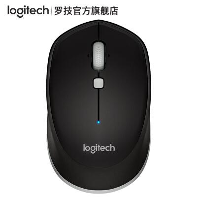 罗技(Logitech) M337蓝牙无线鼠标笔记本台式电脑办公mac鼠标 M337黑色
