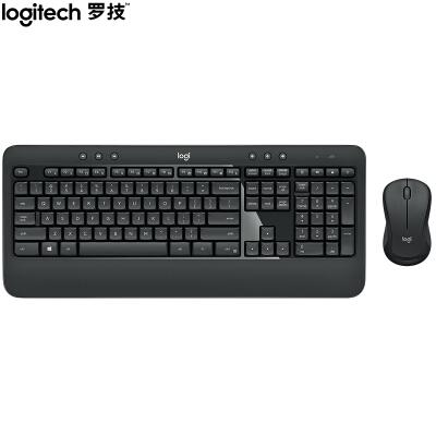 罗技(Logitech)MK540 键鼠套装 无线键鼠套装 办公键鼠套装 全尺寸 黑色 自营 带无线2.4G接收器