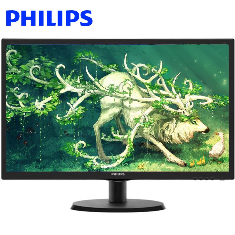 飞利浦(PHILIPS) 223V5LSB 21.5万博手机版客户端下载 LED宽屏液晶显示器 DVI/VGA双接口 黑色