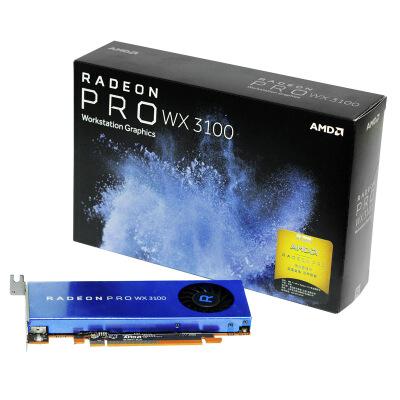 AMD Radeon Pro WX 3100 专业显卡