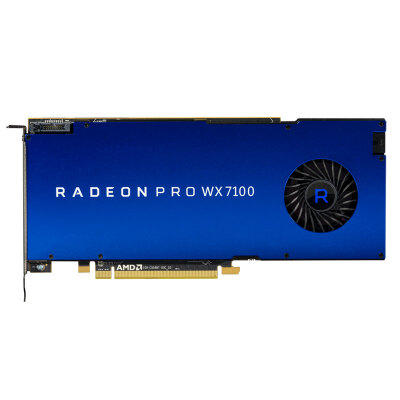 AMD Radeon Pro WX 7100 专业显卡