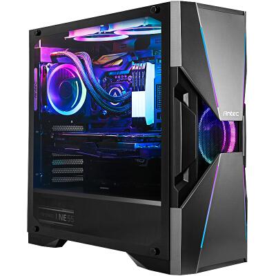 安钛克(Antec)暗黑系-复仇者X(DA601) 中塔钢化玻璃侧透 配赠幻彩ARGB风扇 360水冷电脑游戏机箱
