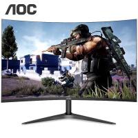 AOC C24B1H显示器 23.6万博手机版客户端下载1500R曲面 HDMI全高清爱眼不闪屏幕 电竞游戏显示屏电脑显示器