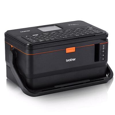 兄弟(brother)【商用】PT-E800TK双引擎标签打印机电脑标签打印机线缆打号机可无线wifi连接打印