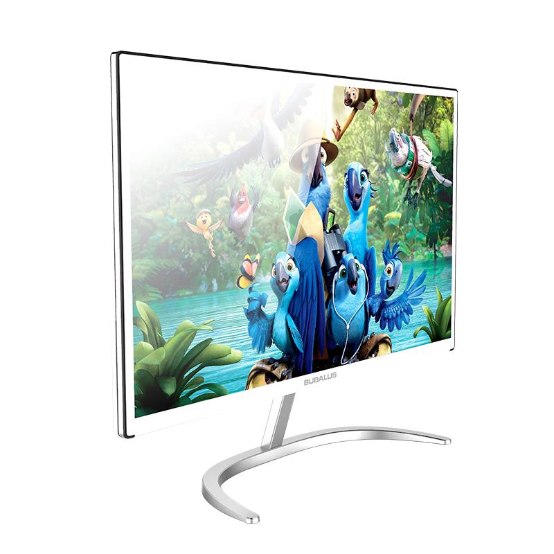 大水牛 i2100G 21.5万博手机版客户端下载IPS窄边框LED家用办公液晶高清电脑显示器 白色