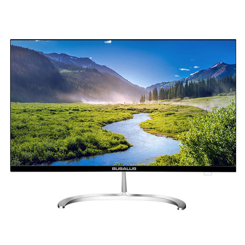 大水牛(BUBALUS)W2716 27寸显示器 黑色 白色 HDMI+VGA