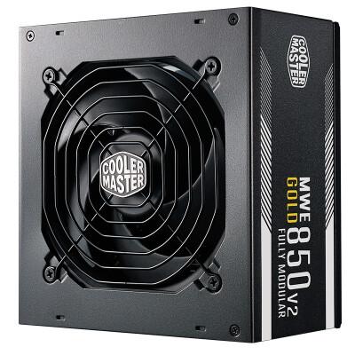 酷冷至尊 CoolerMaster MWE850W 金牌台式机主机电源 MWE GOLD 850全模组(额定850W)
