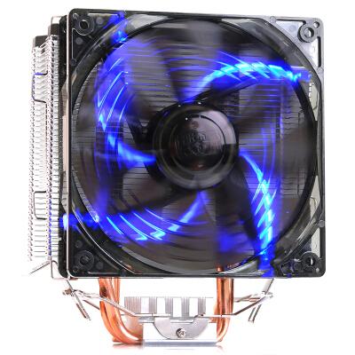 超频三(PCCOOLER)东海X5 CPU散热器(多平台/支持AM4/1151/5热管/PWM温控/12CM静音风扇/附带硅脂)