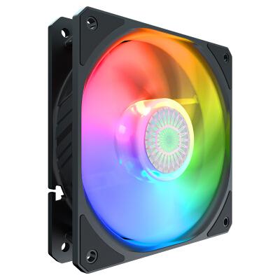 酷冷至尊(CoolerMaster)漩涡120 ARGB 12cm机箱风扇(导流扇框/轴承密封/新设计扇页效能更佳)