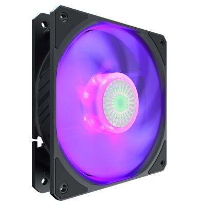 酷冷至尊(CoolerMaster)漩涡120 RGB 12cm机箱风扇(导流扇框/轴承密封/新设计扇页效能更佳)