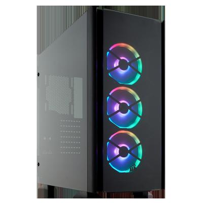 美商海盗船(USCORSAIR)500D SE 中塔侧透台式机箱 支持360冷排水冷 电脑机箱 500D RGB SE 黑色