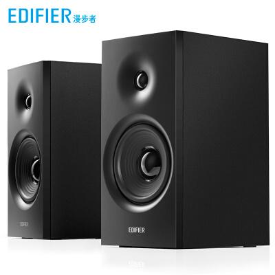 漫步者 (EDIFIER)R1080BT 2.0声道 电脑音箱 多媒体音箱 蓝牙音箱 木质音响 黑色/白色