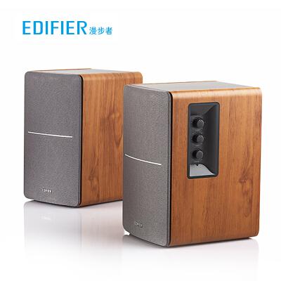 漫步者(EDIFIER) R1200TII 2.0多媒体音箱音响 笔记本台式电脑音箱 书架音箱