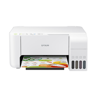 爱普生(EPSON) L3156 无线WIFI 彩色 原装墨仓式 连供 多功能一体机 (打印机、复印、扫描) 家庭作业打印好帮手