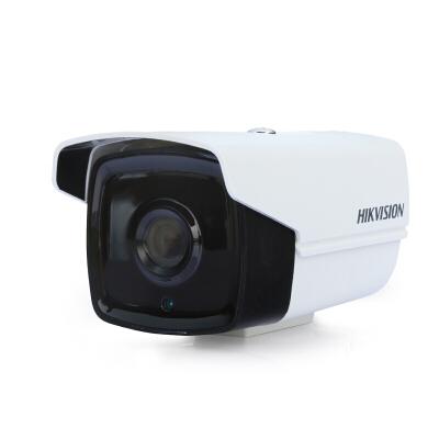 海康威视100万高清网络监控枪型红外摄像头 室外防水 100万POE(DS-2CD1201-I3) 4mm