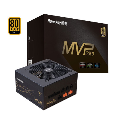 航嘉MVP K600金牌全模组额定600W/650W台式机电脑机箱电源(静音/日系电容/) MVP K600(稳定静音) 金牌全模组