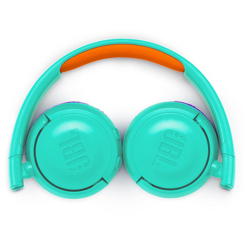 JBL JR300BT 头戴式无线青少年新万博bet 无线蓝牙耳麦 护耳学生新万博bet 低分贝儿童新万博bet