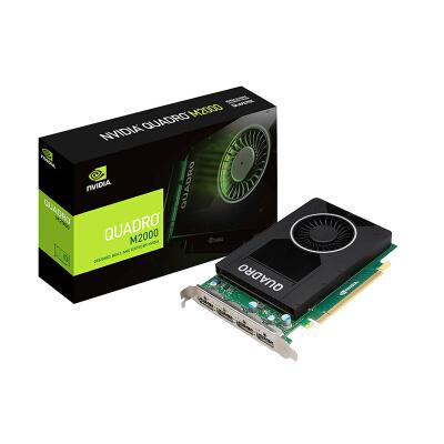 丽台(LEADTEK)NVIDIA Quadro M2000 4GB GDDR5/128bit/106GBps CUDA核心768 建模渲染绘图专业显卡