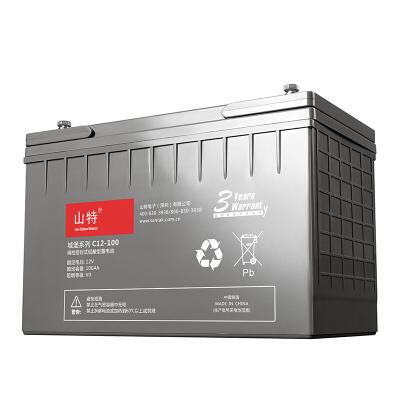 山特(SANTAK)C12-100 山特UPS电源电池免维护铅酸蓄电池 12V100AH