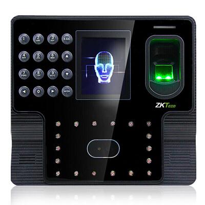 ZKTeco IFace102面部指纹人脸考勤机 高速签到打卡机 大容量自助报表签到机